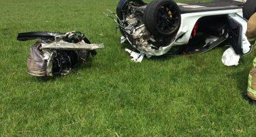 Έφυγε ο κινητήρας από μια Porsche 911 GT3 RS