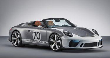 Το επετειακό μοντέλο για τα 70 χρόνια της Porsche (video)