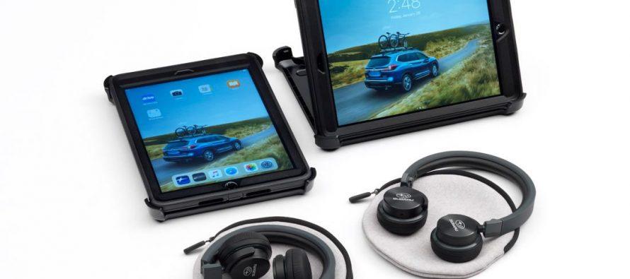 Η Subaru προσφέρει iPads στους πίσω επιβάτες