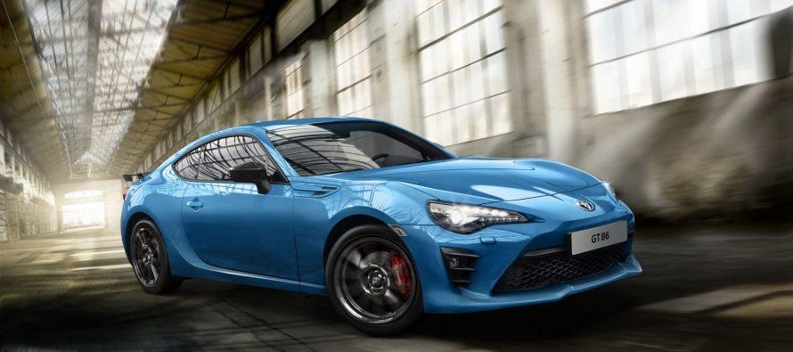 To Toyota GT86 με νέα μπλε απόχρωση και έκδοση