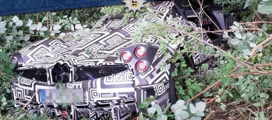 Γιατί κρύβεται μέσα στους θάμνους αυτή η Pagani Huayra;