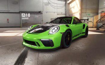 Η Porsche 911 GT3 RS πρωταγωνιστεί σε βιντεοπαιχνίδι (video)