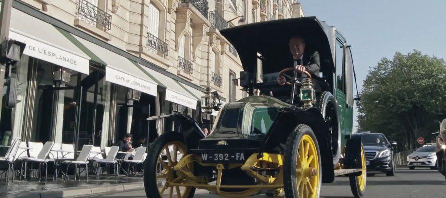 Κλασσικά μοντέλα της Renault έγιναν ταξί (video)