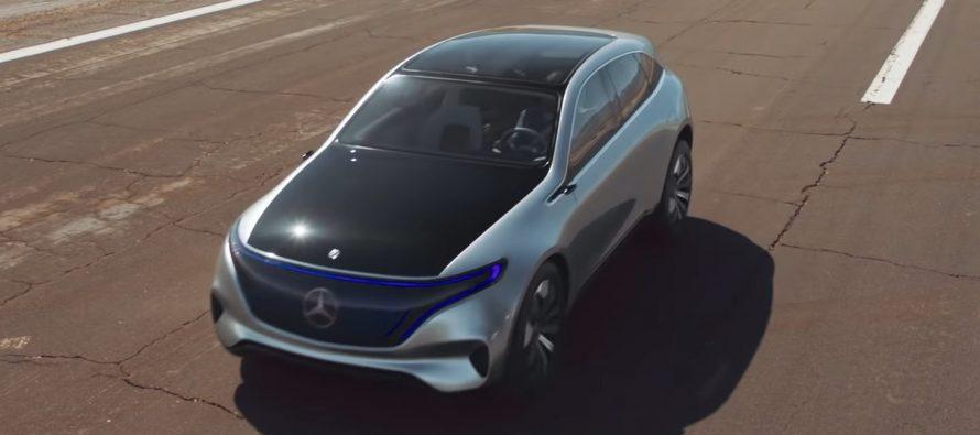 Ακούστε πόσο αθόρυβη είναι η Mercedes Concept EQ (video)