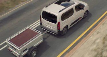 Το Citroen Berlingo είναι ιδανικό για ρυμούλκηση τρέιλερ (videos)