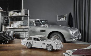 H Aston Martin DB5 από Lego με τα όπλα του Τζέιμς Μποντ (video)