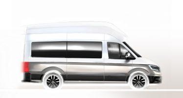 To νέο Volkswagen Crafter θα έχει τις ανέσεις ενός σπιτιού