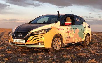 Από την Πολώνια στην Κίνα με ένα ηλεκτροκίνητο Nissan Leaf