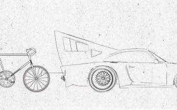 Όταν η Porsche προσπάθησε να σπάσει το ρεκόρ ταχύτητας με ποδήλατο (video)