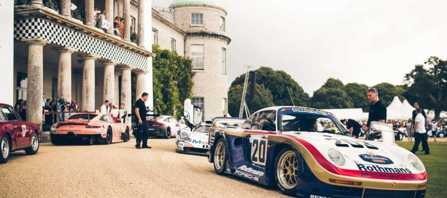 Δείτε ιστορικά αγωνιστικά οχήματα της Porsche