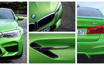 Καταπράσινη με 600 ίππους η ΒΜW M5 (video)