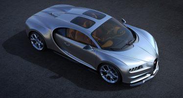 Η Bugatti Chiron τώρα και με ηλιοροφή