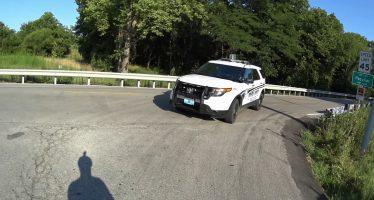 Ποδηλατιστής παρασύρθηκε από περιπολικό (video)