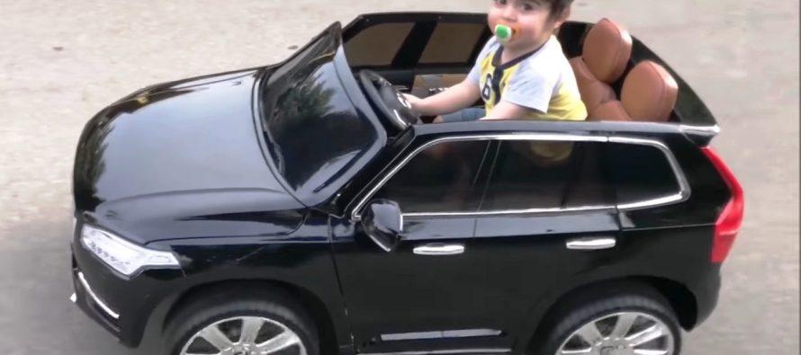 To Volvo XC90 για οδηγούς με πιπίλα (video)