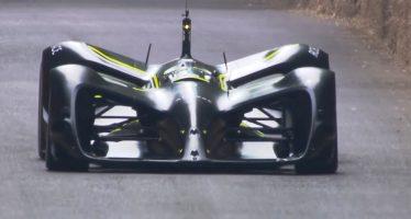 Το αγωνιστικό όχημα Roborace δε χρειάζεται οδηγό (video)