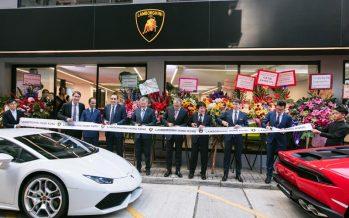Πού άνοιξε νέος εκθεσιακός χώρος της Lamborghini;