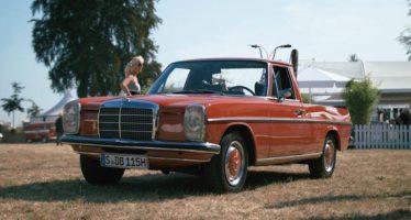 Γνωρίστε ένα σπάνιο pickup της Mercedes (video)