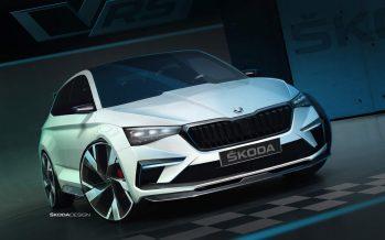 Με αγωνιστικό τιμόνι και 245 ίππους το νέο Skoda Vision RS Concept