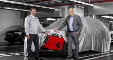 Η Audi ξεκίνησε την παραγωγή του πρώτου ηλεκτροκίνητου SUV