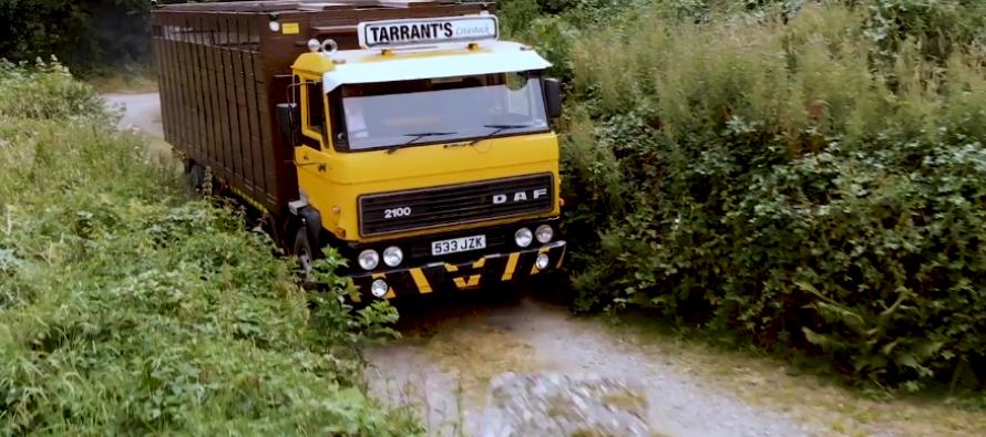 Αυτό είναι το παλαιότερο εν ενεργεία φορτηγό της DAF (video)