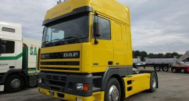Το DAF 95 φορτωμένο αναμνήσεις από το 1994 (video)