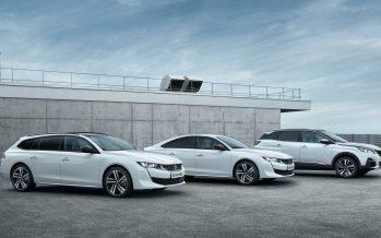 Τα Peugeot 508 SW, 508 και 3008 μπαίνουν στην πρίζα