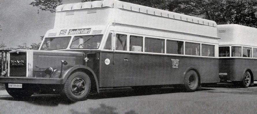 Πριν 75 χρόνια το πρώτο λεωφορείο της MAN με αέριο