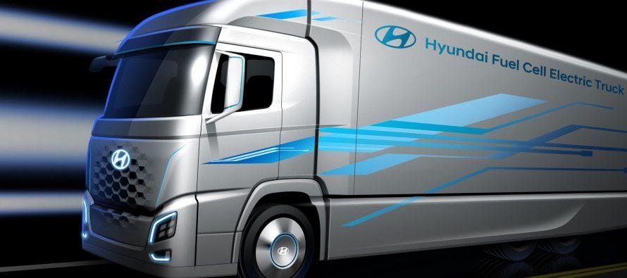 Φορτηγό που θα κινείται με υδρογόνο ετοιμάζει η Hyundai