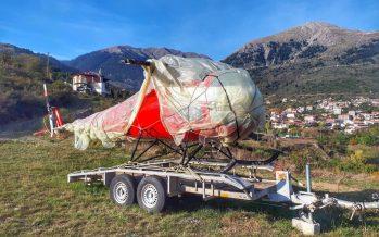 Βρέθηκε κλεμμένο ελικόπτερο στο Καρπενήσι