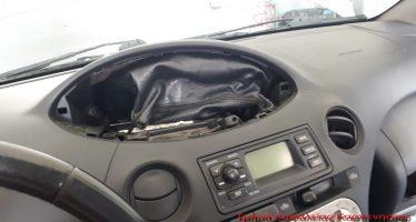 Έκρυψε τα κλοπιμαία στον αερόσακο του αυτοκινήτου (video)