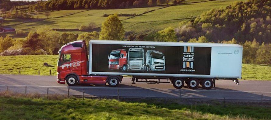 Ένα εκατομμύριο φορτηγά FH κατασκεύασε η Volvo