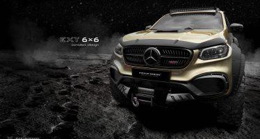 Η εξάτροχη Mercedes Χ-Class που θέλει να πάει στον Άρη
