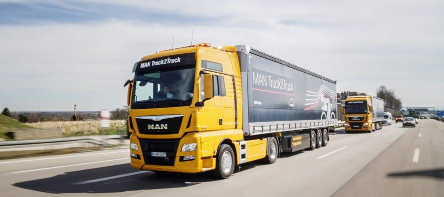 Αυτόνομα φορτηγά της ΜΑΝ θα βγουν σε δημόσιους δρόμους