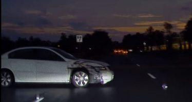 Έτσι καταστράφηκε ένα καινούργιο Tesla Model 3 (video)