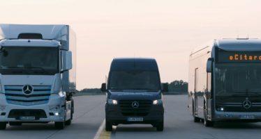 Όλα τα νέα φορτηγά, βαν και λεωφορεία της Mercedes είναι εδώ (video)