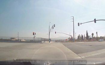 Δυο Honda συγκρούστηκαν μεταξύ τους και το ένα ανετράπη (video)