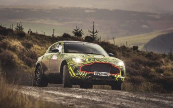 Δείτε πως δοκιμάζει η Aston Martin το πρώτο SUV της (video)