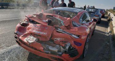 Καταστράφηκαν σε αγώνα μια McLaren και μια Porsche