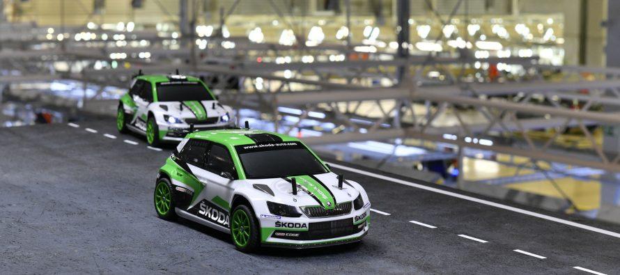 Τηλεκατευθυνόμενες μινιατούρες Skoda Fabia R5 φτάνουν τα 100 χλμ./ώρα (video)
