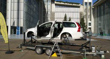 Προσομοιωτής ανατροπής οχήματος σε ημερίδα της Τροχαίας (video)