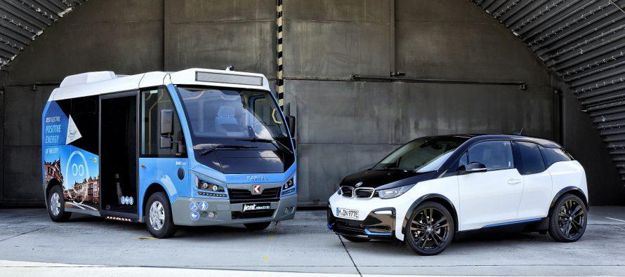 Τουρκικό λεωφορείο με μπαταρίες και ηλεκτροκινητήρα της BMW