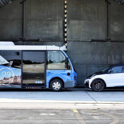 Karsan Jest Bus – BMW i3Maisach, am 24.07.2018