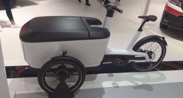 Το ηλεκτρικό ποδήλατο της Volkswagen με πορτμπαγκάζ 501 λίτρων