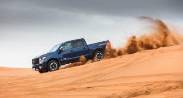 Τέσσερα μοντέλα της Nissan στην έρημο Σαχάρα