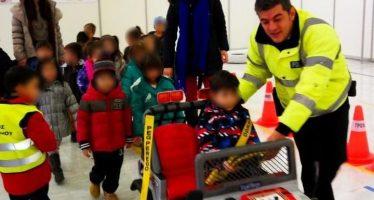Η Τροχαία Κοζάνης δίδαξε στα παιδιά πως να γίνουν σωστοί οδηγοί