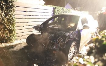 Θύμα πυρκαγιάς μια Jaguar I-Pace