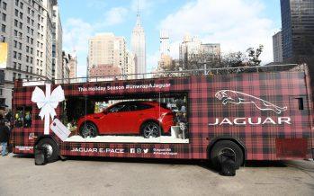 Δείτε τη Jaguar E-Pace μέσα στην πρώτη κινητή βιτρίνα του κόσμου (video)