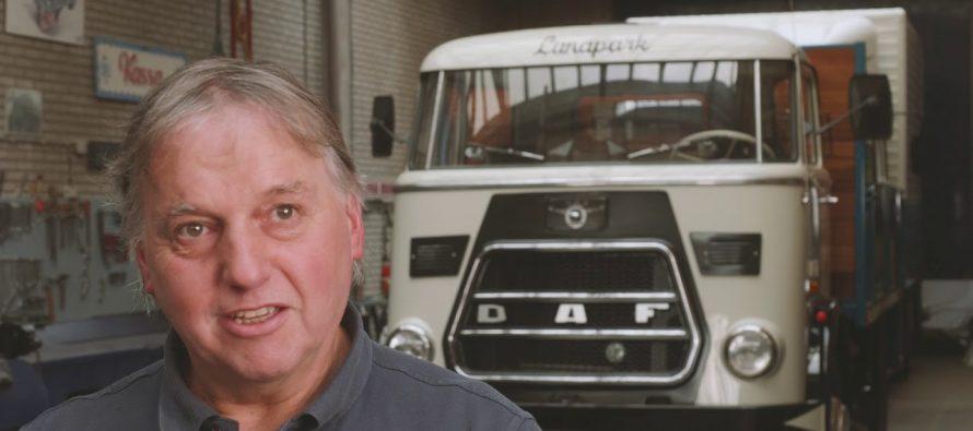 Ο άνθρωπος που έχει τα πιο παλιά φορτηγά DAF (video)