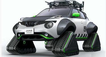 Το Nissan Juke με ερπύστριες είναι ένα τέρας παντός εδάφους