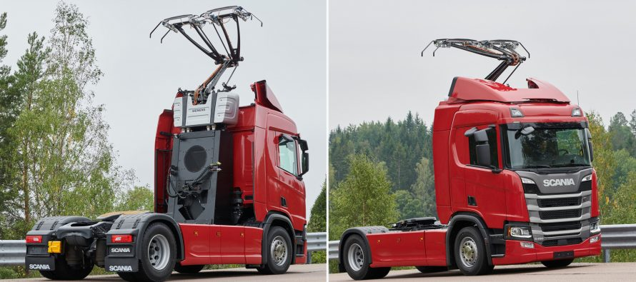 Φορτηγά της Scania θα κινούνται όπως τα τρόλεϊ